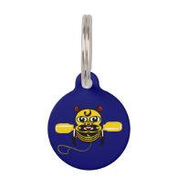 Hei Tiki Bee Toy Kiwiana Pet Tag