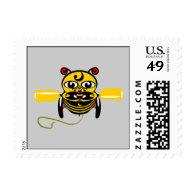 Hei Tiki Bee Toy Kiwiana Postage Stamps