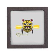 Hei Tiki Bee Toy Kiwiana Premium Gift Box