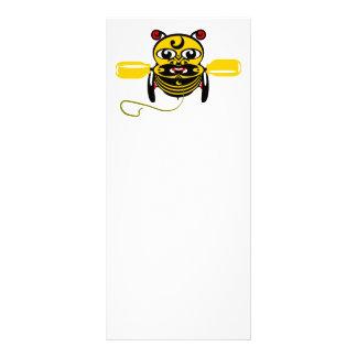 Hei Tiki Bee Toy Kiwiana Rack Card
