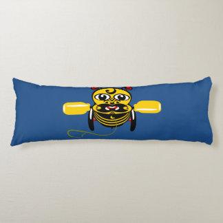 Hei Tiki Bee Toy Maori Design New Zealand Body Pillow