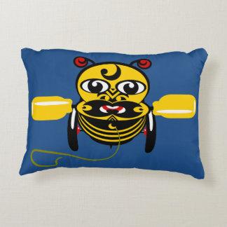 Hei Tiki Bee Toy Maori Design New Zealand Decorative Pillow