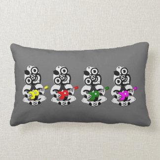 Hei Tiki Lumbar Pillow