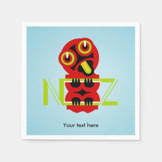 Hei Tiki Maori Design NZ Napkin