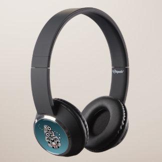 Hei Tiki New Zealand Drum Maori design Headphones