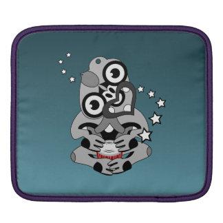 Hei Tiki New Zealand Drum Maori design iPad Sleeve