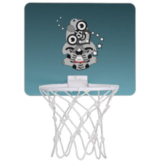 Hei Tiki New Zealand Drum Maori design Mini Basketball Hoop