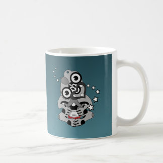 Hei Tiki New Zealand Drumming Coffee Mug
