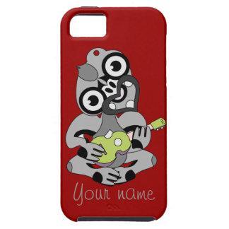 Hei Tiki with green ukulele iPhone SE/5/5s Case