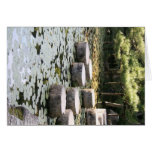 Heian Gardens Pond and Walk in Kyoto Greeting Card