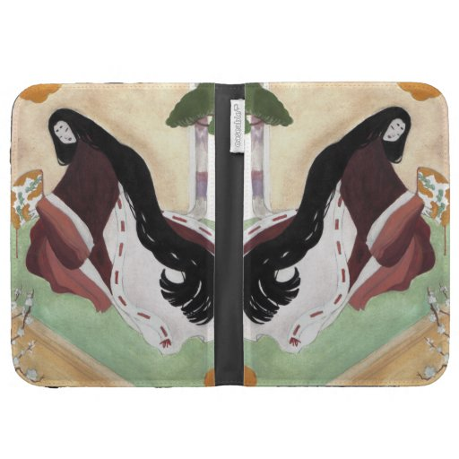 Heian Lady Case For The Kindle