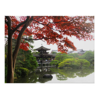 Heian Shrine Garden Poster