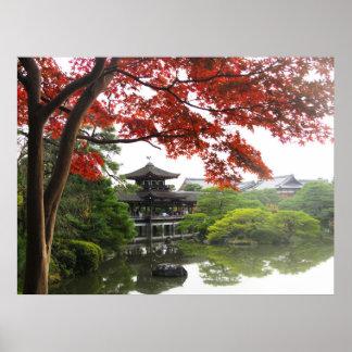 Heian Shrine Garden Print