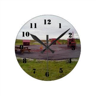 Heiane Playground Round Clock