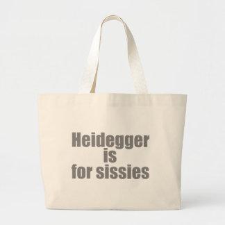 Heidegger is for sissies bag