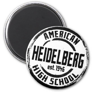 Heidelberg American High School Stamp A004 Magnet
