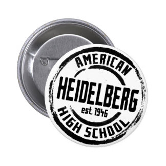 Heidelberg American High School Stamp A004 Pinback Button