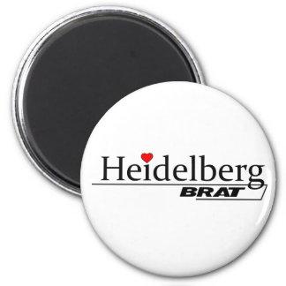 Heidelberg Brat -A001L 2 Inch Round Magnet