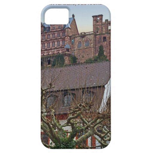 Heidelberg - castillo de debajo iPhone 5 protector
