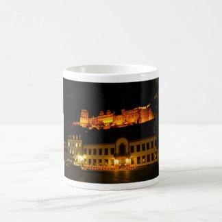 Heidelberg castle at night (Morphing Mug) Magic Mug