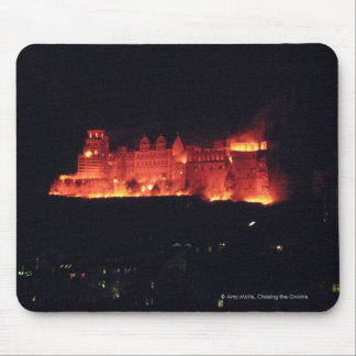 Heidelberg Castle Burning Mouse Pad