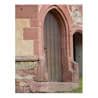 Heidelberg Castle Door Postcard