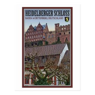 Heidelberg - Castle from Below Postcard