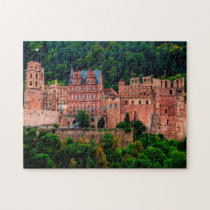 Heidelberg Castle Germany. Jigsaw Puzzle