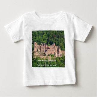 Heidelberg Castle In German & German Saying Baby T-Shirt