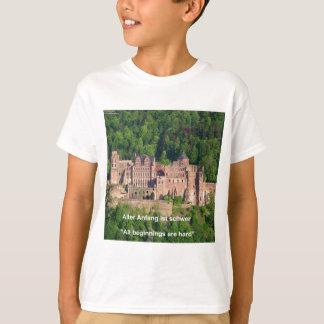 Heidelberg Castle In German & German Saying T-Shirt