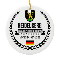 Heidelberg Ceramic Ornament