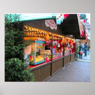 Heidelberg Christmas Market,  Christmas stable Poster