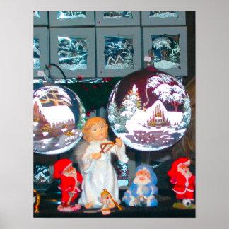 Heidelberg Christmas Market,  Christmas time Poster