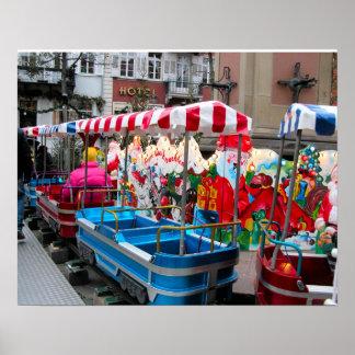 Heidelberg Christmas Market,  Christmas transport Poster