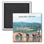 HEIDELBERG, GERMANY 2 INCH SQUARE MAGNET