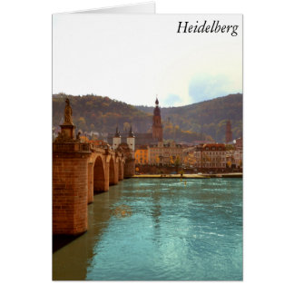 Heidelberg, Germany Card