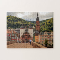Heidelberg Germany. Jigsaw Puzzle