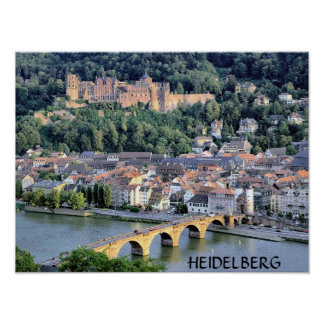 HEIDELBERG, GERMANY POSTER