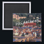 "Heidelberg Germany Travel Photo Souvenir Magnet<br><div class=""desc"">Refrigerator magnets picture Heidelberg,  Germany.</div>"