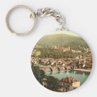Heidelberg I, Baden-Württemberg, Alemania Llavero Redondo Tipo Pin