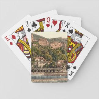 Heidelberg II, Baden-Württemberg, Germany Playing Cards