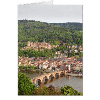 Heidelberg scenic view card