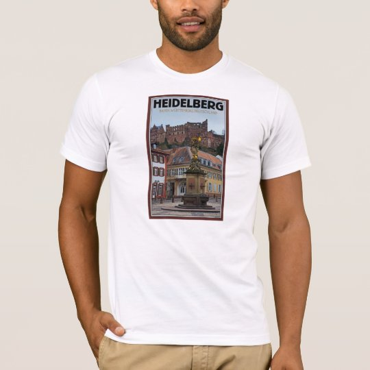Heidelberg - Statue and Castle T-Shirt