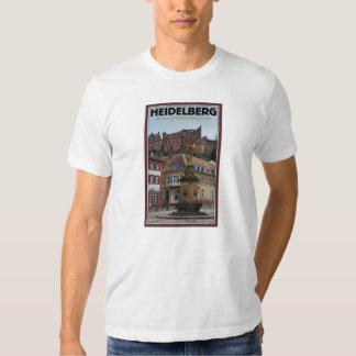 Heidelberg - Statue and Castle Tshirts