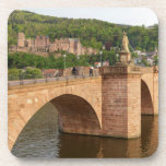 Heidelberg view over the Neckar Beverage Coaster