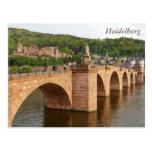 Heidelberg view over the Neckar Postcard