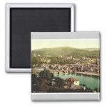 Heidelberg, vista del Philosophenweg, Baden, G Imanes