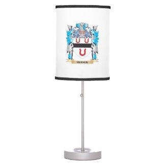 Heiden Coat of Arms - Family Crest Desk Lamps