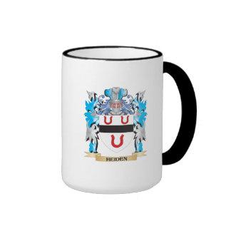 Heiden Coat of Arms - Family Crest Ringer Coffee Mug