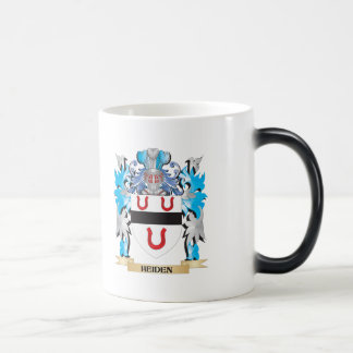 Heiden Coat of Arms - Family Crest 11 Oz Magic Heat Color-Changing Coffee Mug